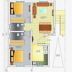 South Facing Home Plans as Per Vastu New south Face House Plan Per Unique House Plans, Indian House Plans, Beautiful House Plans, 2bhk House Plan, Model House Plan, Duplex House Plans, House Floor Plans, 20x30 House Plans, North Facing House