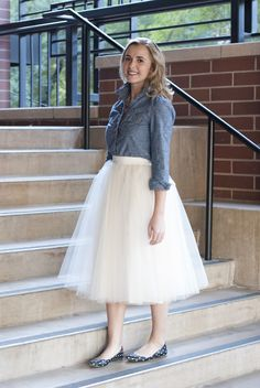 I want a tulle skirt...where does one wear a tulle skirt though???