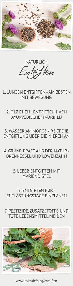 Natürlich #Entgiften #Tipps #Lavita #fitfürsleben #müde #schlaflos