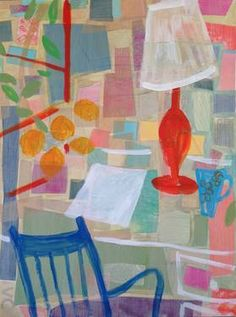 "Saatchi Art Artist Valerie Coursen; Painting, ""Sticky Note Thoughts "" #art"