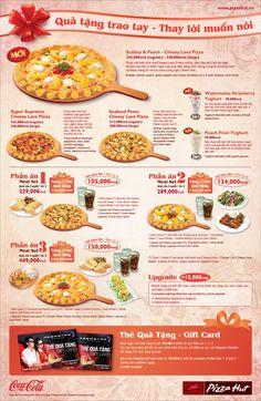 Khuyến mãi Pizza Hut quà tặng trao tay thay lời muốn nói tặng quà hấp dẫn tháng 3
