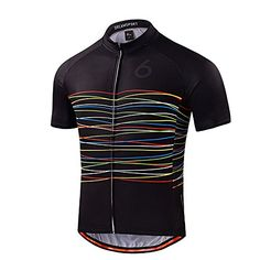 UOOU Men Cycling Jersey Short Sleeve Jersey Bicycle Jacket Comfortable  Breathable Quick Dry Shirts Tops     You can get more details by clicking  on the ... 43dd248c2