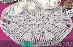 Красивые цветочные салфетки / Вязание крючком Crochet Patterns Filet, Crochet Doilies, Tree Skirts, Mandala, Christmas Tree, Holiday Decor, Home Decor, Farmhouse Rugs, Crochet Round