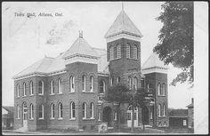 Town Hall, Athens, Charleston, Louvre, Building, Travel, Image, Viajes, Buildings