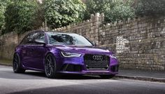 Purple Sled: Audi RS6 Avant on ADV.1 Wheels - Photo Gallery