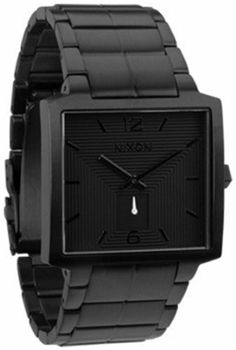 Nixon District Watch - Men's All Black,