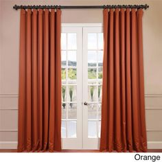 exclusive fabrics extra wide thermal blackout 96inch curtain panel