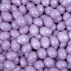 Pastel Purple Sparkle Chocolate Almonds - 5lb