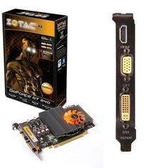 New Zotac ZT-20401-10L Geforce 240 Graphics Card 550 Mhz Core 512 MB GDDR5 SDRAM PCI Express 2.0 X16 by Zotac. $109.61
