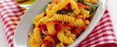 FUSILLI CON RICOTTA, PEPERONI E POMODORI SECCHI Molto più che una semplice pasta ma bensì un'esperienza di gusto per il palato dei vostri co...