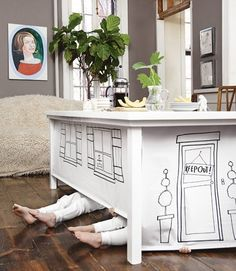 Secret Play Place: Table Fort — Country Living