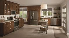 GE Slate Appliances - transitional - major kitchen appliances - chicago - by Young's Appliances. NOT stainless.