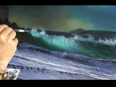 HOW TO PAINT FOAM AND WAVES, PART 2 by Alan Kingwell - YouTube