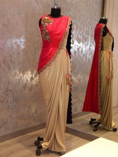 This product available only at  G3+ Sutaria, Ghoddod Road Store Shop saree Style Gown By G3+ Video Shopping