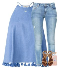 """""""#my2017summerstyle"""" by elizabethannee ❤ liked on Polyvore featuring Tory Burch, Zara, Kendra Scott and my2017summerstyle"""