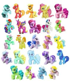 My Little Pony - Blind Bag Mini Figures Series Wave 9 Rainbow Complete set of 24