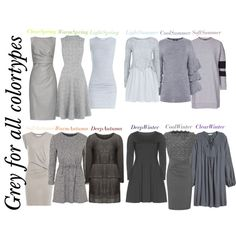 517. Shades of grey by natlik on Polyvore featuring moda, Manon Baptiste, Nostalgia, Topshop, Warehouse, See by Chloé, IRO, MaxMara, ESCADA and James Perse