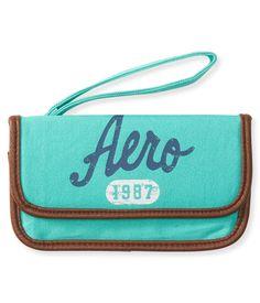 Aero Logo Wallet - Aeropostale