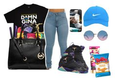 """""""7.23.16"""" by youngfashionaddict ❤ liked on Polyvore featuring MICHAEL Michael Kors, Nike Golf, Marc Jacobs and Victoria's Secret"""