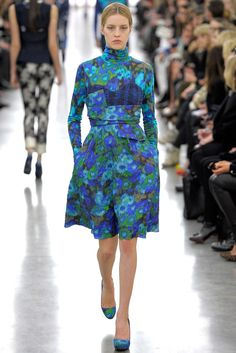 Erdem Fall 2012 Ready-to-Wear Fashion Show - Julia Frauche