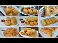13 SNACKS FOLDING IDEAS (Ramadan Special) by YES I CAN COOK - YouTube