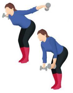 Levez dix fois les coudes sur les côtés en inspirant, puis relâchez les bras vers l'avant. Recommencez et finissez en gardant quelques secondes vos coudes en l'air, sur les côtés. Cet exercice sollicite le grand dorsal mais également la zone de l'omoplate et des trapèzes.