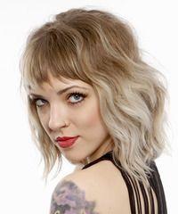 Alternative Medium Wavy Hairstyle -- next potential hair cut?