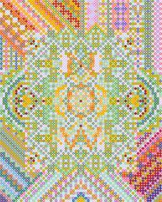love the cross stitching