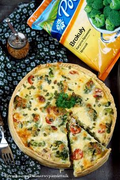 Soul Food, Mozzarella, Vegetable Pizza, Quiche, Broccoli, Food Porn, Vegetables, Breakfast, Cake