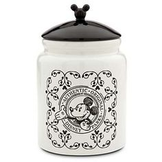 Your WDW Store - Disney Cookie Jar - Gourmet Mickey Mouse - Black