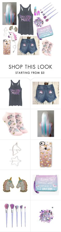 """Be a Unicorn 🦄"" by lauragraham007 ❤ liked on Polyvore featuring Chin Up, Forever 21, Berry, Casetify, Boohoo and The Gypsy Shrine"