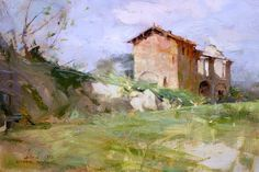 Richard Schmid - Ruins Near Tavernelle