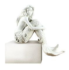 """Young's Resin Mermaid Shelf Sitter, 7"""" Young's http://www.amazon.com/dp/B00U88BU1M/ref=cm_sw_r_pi_dp_cQtJwb173DG2Z"""
