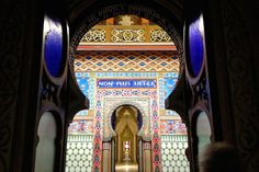The Sammezzano castlein Tuscany near Florence was designed by the Marquis Ferdinando Ximenes Panciatichi of Aragon between 1853 and 1889. Faithful supporter...