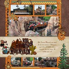 Disney Fronteirland/ Wilderness {pinned by www.thedisneykids.com} #DisneyScrapbooking #DisneyScrapbook