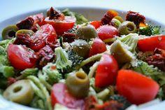 Ves: Raw Pasta With An Olive Marinara