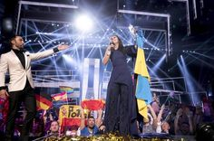 """Grand Final of the 2017 Eurovision Song Contest in Kiev Ukraine 20 may 2017 Singer Jamala from Ukraine with '""""1944"""" won at the Grand Final of the 2016 Eurovision Song Contest in Stockholm Sweden.Ukraine's Susana Jamaladinova poignant song """"1944"""" about the mass deportation of Crimian Tatars under the Soviet time leader Josef Stalin, moved voters across Europe to earn her first place with 534 points. The title """"1944"""" refers to the year in which Stalin shipped ethnic Tatars from ..."""