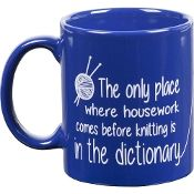Coffee Mug Blue- Housework