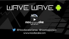 Wave Wave is Trending. It is an incredibly difficult abstract 1-touch sprinter game. Players are directing a line through a gauntlet of triangular obstacles by hitting and having the screen to climb, and launching to dive