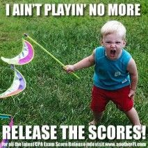 Release the Scores! Exam Guide, Exams Tips, Exam Result Quotes, Results Quotes, Cpa Review, Accounting Humor, What To Study, Exams Funny, Funny Google Searches