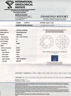 Foto 9, Diamant 0,59 Brillant River Hochfeines Weiss IGI Juwel!, D5672
