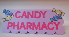 Doc McStuffins Birthday Party Candy Buffet Table Sign by KhloesKustomKreation