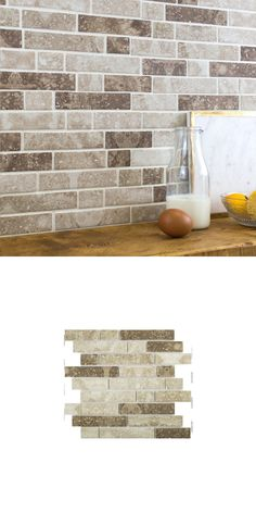 The beautiful Stesso Cinereal Texture Mix Mosaic Tiles are made from glass and have a matt finish. There are 27 tiles per sheet and have a mixture of texture and patterns featured on the tiles to create a stunning effect for your walls. Stone Mosaic Tile, Mosaic Tiles, Tile Ideas, Wall Spaces, Textured Walls, Natural Stones, Tile Floor, Colours, Flooring