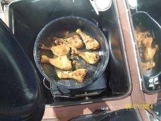 Baked Chicken legs in the Sun Oven