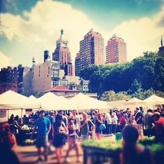 Union Square Farmers Market now largest in New York at Union Square Park.
