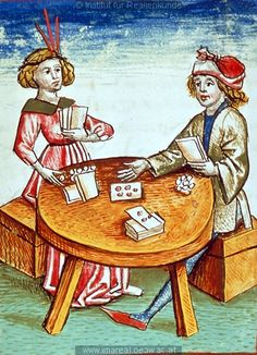 Juego de cartas, 1479, Viena -  Austria