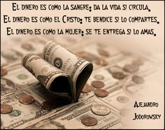 Frases de Alejandro Jodorowsky sobre el dinero