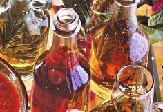 Aceites y vinagres aromatizados -