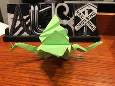 Origami by my Son