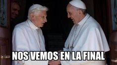 Los dos Papas (© Twitter)